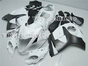 Complete White Injection Mold Fairing Fit For 2008-2018 Suzuki Gsxr1300 A22