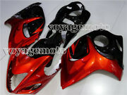 New Orange Black Fairing Injection Mold Fit For 2008-2018 Gsxr 1300 2010 A05