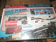 O/o-27 Lionel 11758 High Plains Runner Set Sealed In Box Never Used.