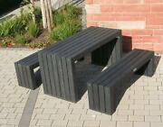 Outdoor Table And Bench Set Outdoor Furniture For Beer Gardens Restaurants Office