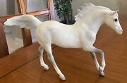 Classic Breyer Horse 1225 Cloud's Legacy Cremello Andalusian Stallion Mustang