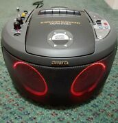 Vintage Aiwa Csd-mr1u Boombox Ghetto Blaster Fully-functional Rare And Clean