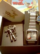 Mazinger Z Limited 3000 Watch And Key Chain Rare Hero Anime
