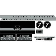 New Mf 7 Massey Ferguson Lawn Tractor Complete Decal Set Decals 🎯