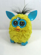 2012 Hasbro Furby Boom Yellow Teal Tested And Working Great