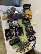 Lot 100's Singer And Others Sewing Machine Attachments Parts Accessories P156