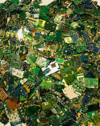 2 Lbs Gold Scrap Recovery Processed Chips Computers Phones Video Game Electronic