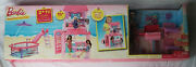 New Barbie Ultimate 2 Ft Beach House Party Glam Pool Bbq Doll 25+ Pieces