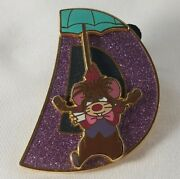 Alice In Wonderland 65th Puzzle Mystery Disney Pin Mouse With Umbrella Lr