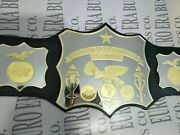 New North American Heavyweight Championship Belt Adult Size And Metal Plates