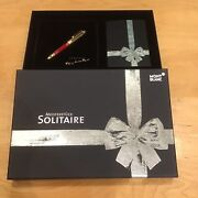 Mont Blanc Solitaire Fountain Pen In Gift Box Presentation