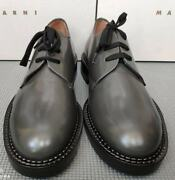 Marni Menand039s Lace-up Leather Shoes - Made In Italy Slip Resistant Rrp Andpound500