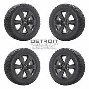 20 Ford F150 Gloss Black Wheels Rims And Tires Oem Set 4 2007-2020 10004