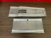 Original 1966-68 Mopar B Body Charger Coronet Console Top Plate And Lid 421