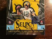 2020 Panini Select Nfl Football Fotl Hobby Box Factory Sealed 1st Off The Line