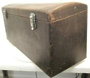 1930and039s Vintage Antique Steel Low Body Automobile Car Rear Back Trunk Rat Rod