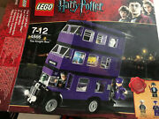 Lego Harry Potter The Knight Bus 4866 With Box And Papers