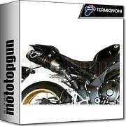 Termignoni Full System Exhaust Oval Carbon Racing Yamaha R1 2009 09 2010 10