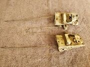 1940and039s 1950and039s Packard Right And Left Side Door Lock Assembly Latch Linkage