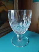 12 Waterford Colleen Short Stem Cut Oversized Water Wine Goblet Glass