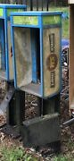 1 Vintage Aluminum Pay Phone Booth Shroud Enclosure Payphone Can Deliver