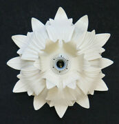 Ceiling Light Wall Chandelier Vintage A Flower Magnolia Wrought Iron Ch7