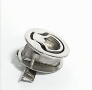 316 Stainless Steel Marine Boat Hatch Latches 2and039and039 Turning Lock Lift Handle Deck