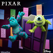 Scentsy Buddy Monsters Inc Sully And Mike Limited Edition Disney Pixar W/scent Pak
