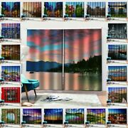 Hippie 3d City Scenery Window Curtains Bedroom Drapes Art Blackout Curtains Deco