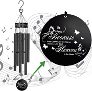 Memgift Memorial Wind Chimes For Loss Of Loved One Bereavement Sympathy Gift Out