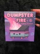 Dumpster Fire Bad Vibes Vinyl Figure Le In Hand And Mint 100 Soft