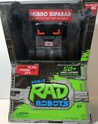 Really Rad Robots Mibro Supabad New Factory Sealed Kids Ages 4+ Robot Toy