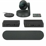 New Opened Box Logitech 960-001225 Rally Plus Ultra-hd Conferencing System