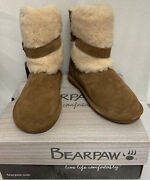 Bearpaw | Womenand039s Boots | Millie Wide 2284wx | Size 9m Hickory | Free Shipping