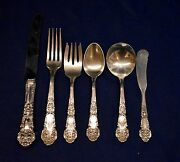 French Renaissance By Reed And Barton Sterling Flatware Set For 4