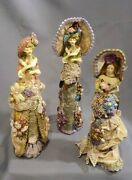 Katherineand039s Collection A Set Of Boudoir Doll Perfume Bottle By Wayne Kleski Used