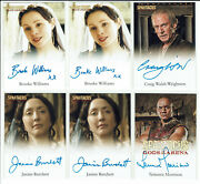 Spartacus Blood And Sand / Gods Of The Arena Autograph Card Selection