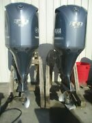 2008 Yamaha 350hp 4 Stroke 25 Counter Rotation And Standard Outboard Motor Pair