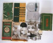 Antique Vintage Singer Sewing Machine Attachments And Parts Boxes And Tools