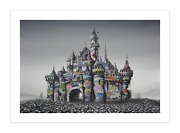 Roamcouch Jeff Gillette - Castle Ruins 2021 Banksyand039s Dismaland Poster Art Print