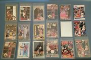 Michael Jordan Lot, Basketball Cards, Baseball Cards And Other Collectibles