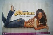2005this Is Rihanna- Music Of The Sun Poster Defjam Recordings 36 X 24