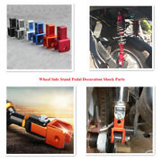 Universal Electric Motorcycle Wheel Side Stand Pedal Decoration Shock Parts