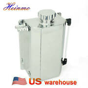 Universal 2l Coolant Radiator Overflow Recovery Water Tank Bottle Aluminum Usa
