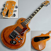Yamaha Sg80t Electric Guitar W/ Hard Case 1972 Vintage Rare Live From Japan