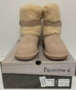 Bearpaw | Womenand039s Boots | Millie Wide 2284wx | Size 8m Blush | Free Shipping