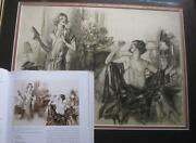 1920and039s Published Orig Illustration Art Painting By Henry Raleigh Collection