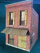 O/on3/on30 Scale Rich White Models Rosie's Fandango Hall Hydrocal Walls Only