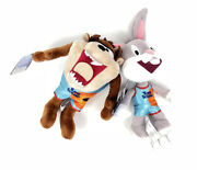 Space Jam A New Legacy Bugs Bunny And Taz Tune Squad 8andrdquo Collectible Plush New 2021