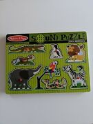 Melissa And Doug Zoo Animals Sound Puzzle New Traditional Toys